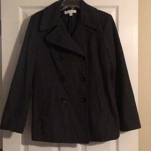 New York & Co dark gray coat